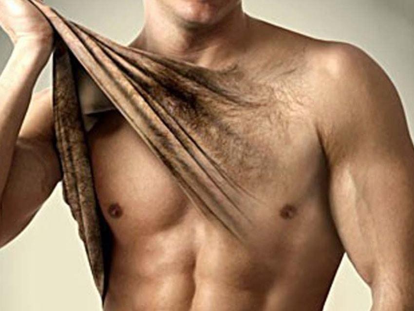 La depilación láser para hombres