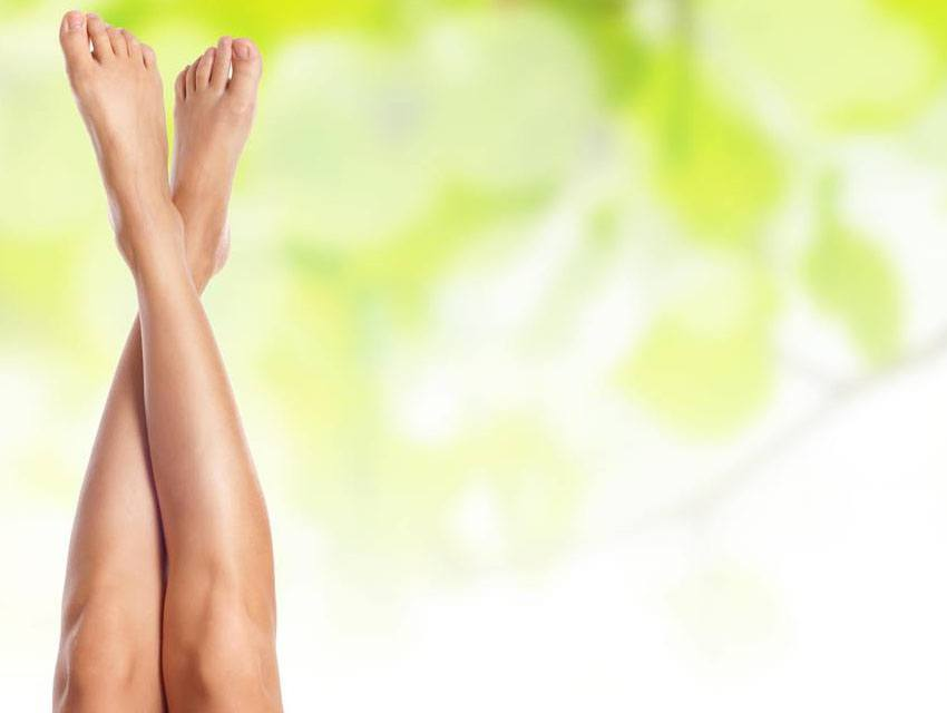 Depilación láser de piernas